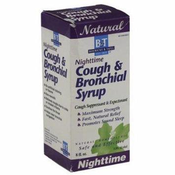 Boericke & Tafel Nighttime Cough & Bronchial Syrup, 8 fl oz