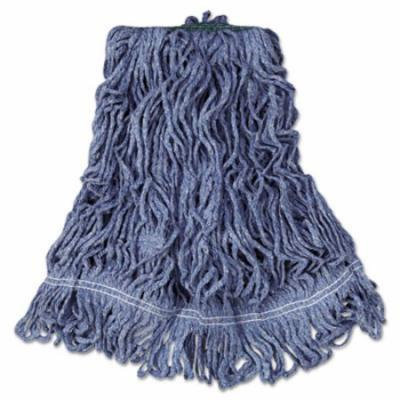 Rubbermaid Commercial Products Super Stitch Blend Cotton/Synthetic Mop Heads