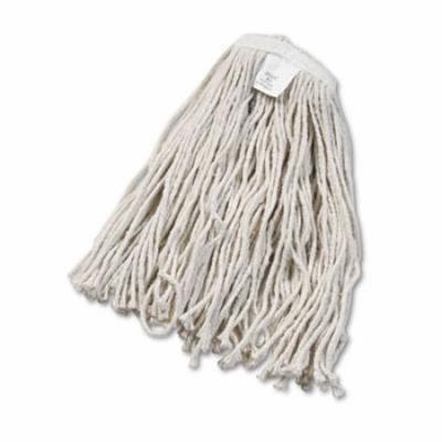 Cut-End Wet Mop Head, Cotton, No. 20, White 2020CEA