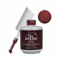 IBD Just Gel 0.5oz Soak Off Nail Polish Red, MOGUL, 56560
