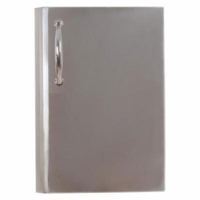 Sunstone Grills Premium Single Access Vertical Door with Shelves