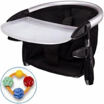Phil & Teds Lobster Highchair with Click Clack Balls Teether Black
