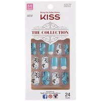 Kiss The Collection Medium Length Nails, Imagination, 24 count