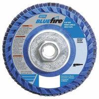 NORTON 66623399145 Flap Disc, 5 In x 40 Grit, 5/8-11