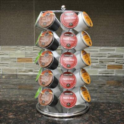 Coffee Pod K-Cup 35 Cup Capacity Storage Spinning Carousel