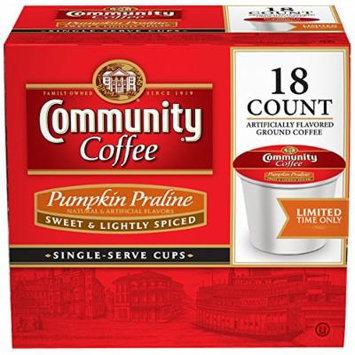 Community Coffee Pumpkin Praline Single-Serve Coffee, 18 Count