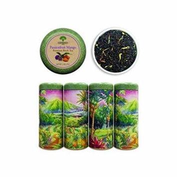 Premium Loose Tea Tin Passion Fruit Mango (Black Tea)