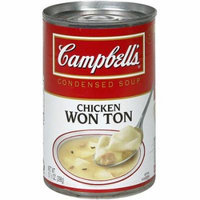 Campbell's Won Ton Soup, 10.5 oz (Pack of 12)
