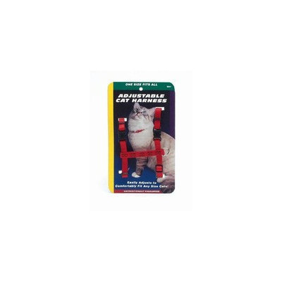 Coastal Pet Products CCP6341PUR Nylon Adjustable Figure H Cat Harness, Purple