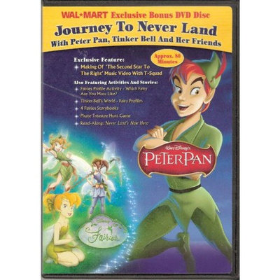 Great Value Journey To Neverland With Peter Pan, Tinker Bell And Her Friends