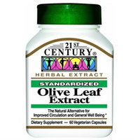 21st Century Healthcare Olive Leaf Extract 60 Vegetarian Capsules, 21st Century Health Care