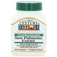 21st Century Vitamins Saw Palmetto Extract VCaps