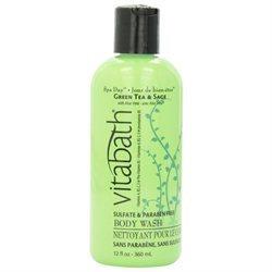 Vitabath Green Tea and Sage Body Wash