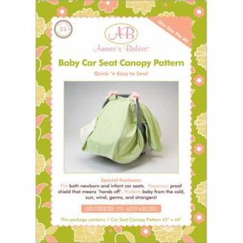 Ammees Babies Ammees Babies Sewing Patterns-Car Seat Canopy Multi-Colored