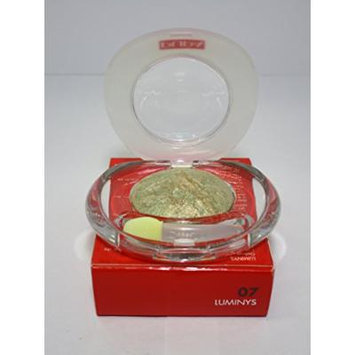 Pupa Luminys Baked Eyeshadow # 07 (Golden Green) 2.2g/0.078oz