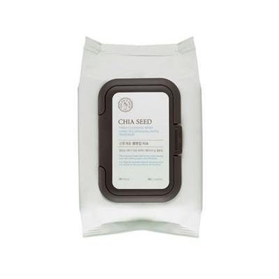 [The Face Shop] Chia Seed Cleansing Wipes 50EA