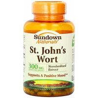 Sundown Naturals St. John's Wort, 300 mg., 150 - Capsules Pack of 4