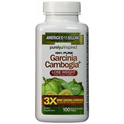 Purely Inspired Garcinia Cambogia Plus Tablets 100 Count Pack Of