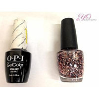 OPI Nail Lacquer and Gelcolor Two Wrongs Don't Make a Meteorite G48