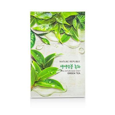 Nature Republic Real Nature Mask Sheet - Green Tea 10x23ml/0.78oz