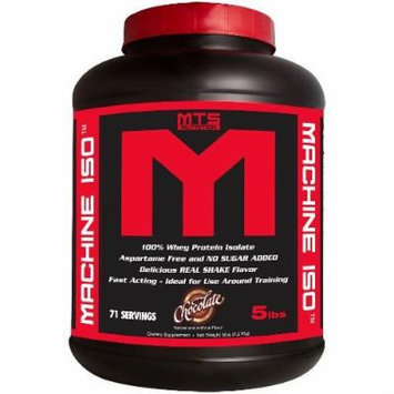 MTS Nutrition Machine ISO - Great Tasting Whey Protein Isolate (Chocolate, 5 Pounds)