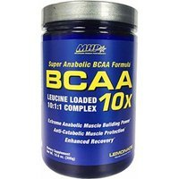 BCAA 10X By MHP, Lemonade 300 Grams