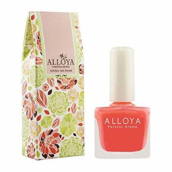 Alloya Natural Non Toxic Nail Polish, Pregnancy Safe, 040 Samba! Samba!
