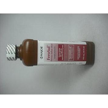 Ferosul Ferrous Sulfate Elixir 220 Mg 16oz (Pack of 2)