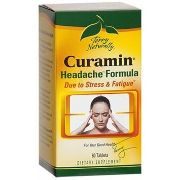 Terry Naturally Curamin Headache with Clinically Studied BCM95 Curcumin 60 Tabs