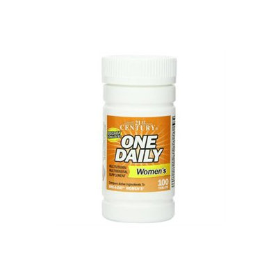 21st Century Healthcare One Daily Women's 100 Tablets, 21st Century Health Care