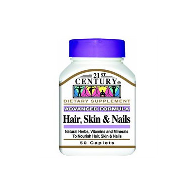 21st Century Healthcare Hair, Skin & Nails 50 Caplets, 21st Century Health Care
