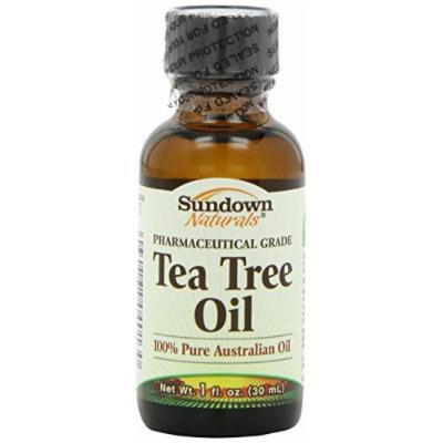 Sundown Naturals Tea Tree Oil, 1 Ounce Per Bottle (2 Bottles)