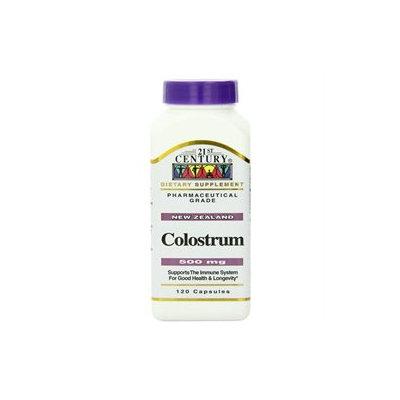 21st Century Colostrum 500mg, 120 capsules