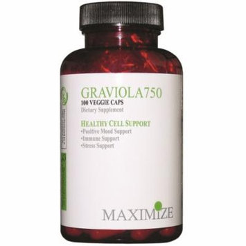 Maximum International Graviola 750, 100 Vcap