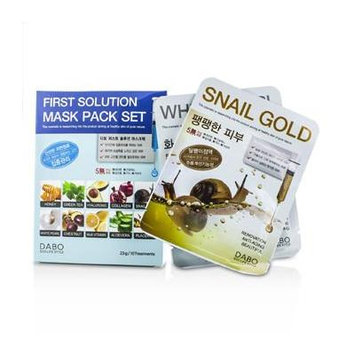 Dabo First Solution Mask Pack Collection (10 Types) 10x23g/0.76oz