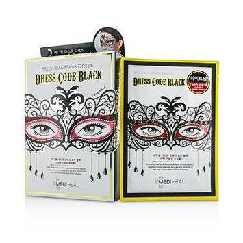 Mediheal Dress Code Mask - Black (Jewel Stone - Whitening Care) 10pcs