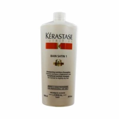 Nutritive Bain Satin 1 Shampoo by Kerastase for Unisex - 34 oz Shampoo