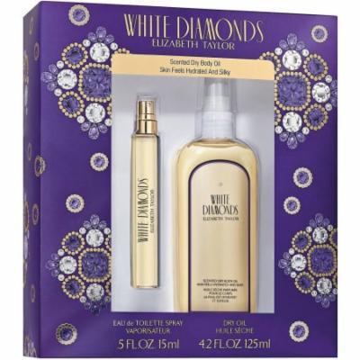 Elizabeth Taylor White Diamonds Fragrance Gift Set, 2 pc