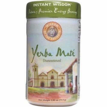 Wisdom of the Ancients Unsweetened YerbaMate Instant Tea, 2.82 oz