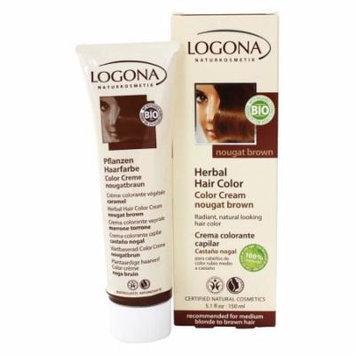 Logona - Herbal Hair Color Cream Nougat Brown - 5.1 oz.
