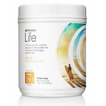 Shaklee Life Energizing Shake delicious non-GMO protein shake with pre- and probiotics -Vanilla flavor (net wt. 23oz)15 servings