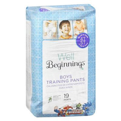 Well Beginnings Premium Training Pants Boy, Jumbo, 4T/5T, 19 ea