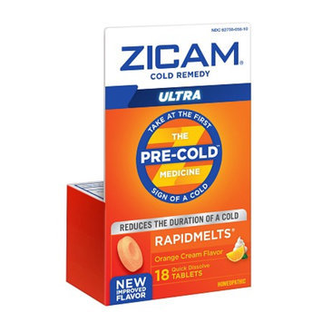 Zicam Ultra Cold Remedy Bi-Layer RapidMelts Quick Dissolve Tablets
