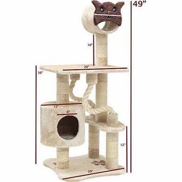Majestic Pet Products, Inc. Majestic Pet Products 49 In. Casita Cat Tree Fur