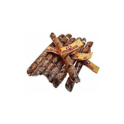 Smokehouse Brand Dog Treat Bacon Skin Twists Large Display