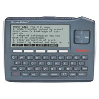 Franklin Covey Franklin Electronic Dictionary and Thesaurus Organizer - Silver/Gray