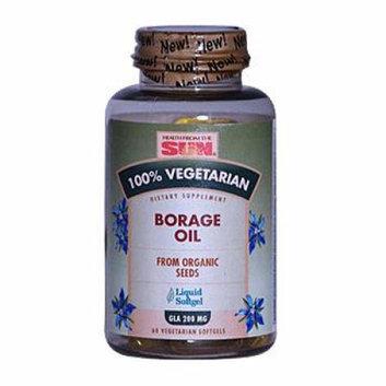 Health From the Sun Borage Oil GLA 200 mg 60 Vegetarian Softgels