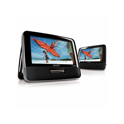 Philips Portable Dvd Player Featuring Two 7