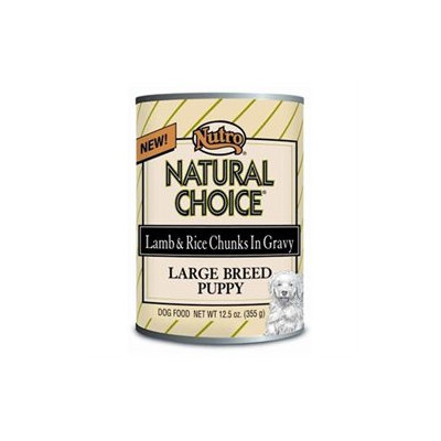 Natural Choice Lg Breed Lamb/Rice Puppy Food 12 Pk