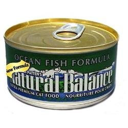 Natural Balance Can Cat Ocean Fish 6 oz Case 24